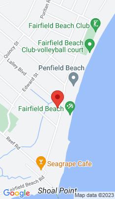 Map of Single Family Home on 486 Fairfield Beach Road,Fairfield, CT