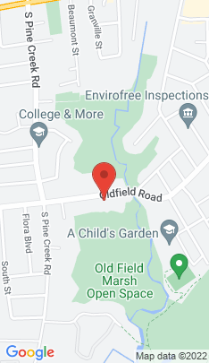 Map of Single Family Home on 823 Oldfield Road,Fairfield, CT