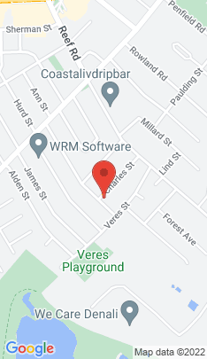 Map of Single Family Home on 137 Charles Street,Fairfield, CT