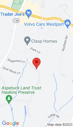 Map of Single Family Home on 15 Dogwood Lane,Westport, CT