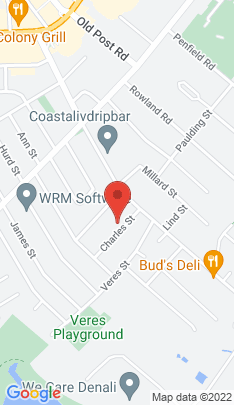 Map of Residential Property on 58 Charles Street,Fairfield, CT