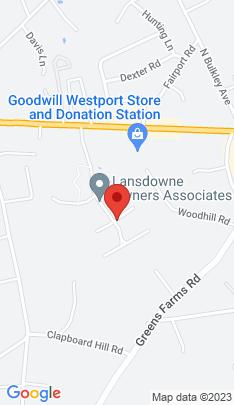 Map of Condo Home on 221 Lansdowne ,Westport, CT