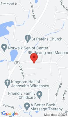 Map of single family home on 23 Murray Street,Norwalk, CT