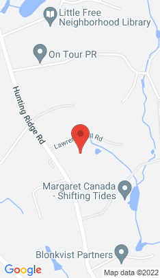 Map of Single Family Home on 285 Hunting Ridge Road,Stamford, CT