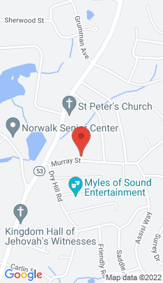 Map of Multi Family Home on 18 Murray Street,Norwalk, CT