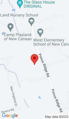Map of Single Family Home on 714 Ponus Ridge,New Canaan, CT