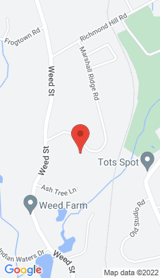 Map of Single Family Home on 222 Marshall Ridge Road,New Canaan, CT