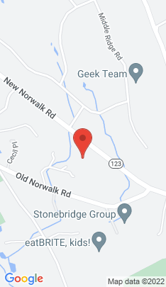 Map of Single Family Home on 773 New Norwalk Road,New Canaan, CT