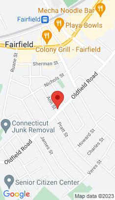 Map of Single Family Home on 121 Ann Street,Fairfield, CT
