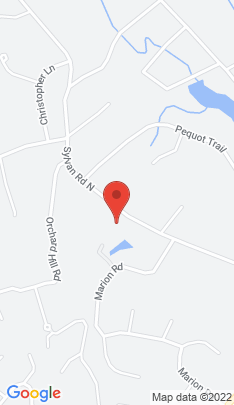 Map of Single Family Home on 57 Sylvan Road,Westport, CT
