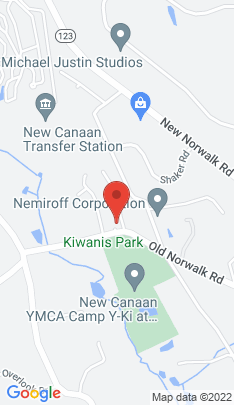 Map of Single Family Home on 90 Old Norwalk Road,New Canaan, CT