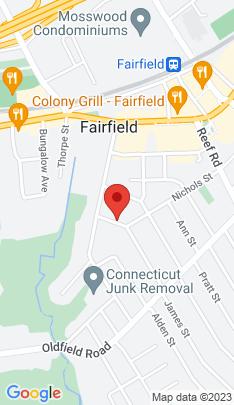 Map of Single Family Home on 51 Blaine Street,Fairfield, CT
