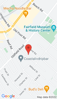 Map of Single Family Home on 91 Smith Street,Fairfield, CT