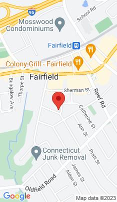 Map of Single Family Home on 79 Hurd Street,Fairfield, CT