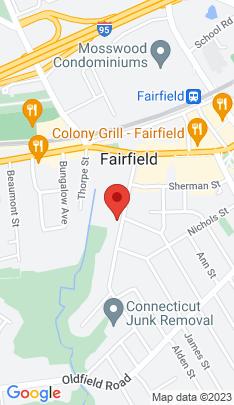 Map of Single Family Home on 152 Ruane Street,Fairfield, CT