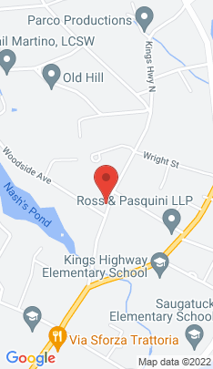 Map of Single Family Home on 49a Kings Highway,Westport, CT