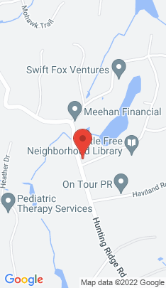 Map of Single Family Home on 491 Hunting Ridge Road,Stamford, CT