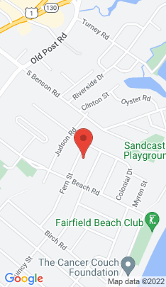 Map of Single Family Home on 35 Fern Street,Fairfield, CT