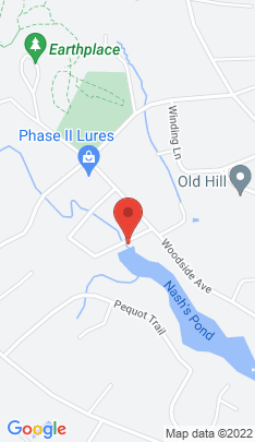 Map of Single Family Home on 1 Blind Brook Road,Westport, CT