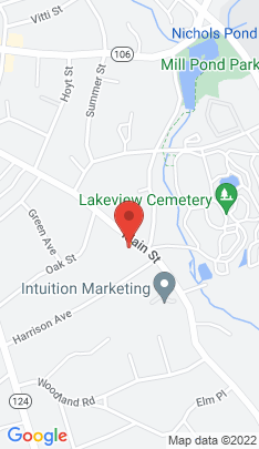 Map of Single Family Home on 331 Main Street,New Canaan, CT