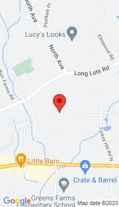 Map of Single Family Home on 9 Rainey Lane,Westport, CT