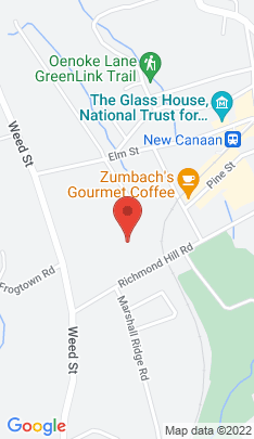 Map of condominium home on 123 Richmond Hill Road,New Canaan, CT