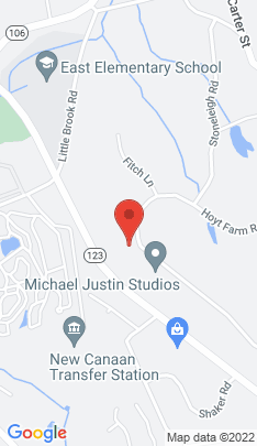 Map of Single Family Home on 288 Hoyt Farm Road,New Canaan, CT