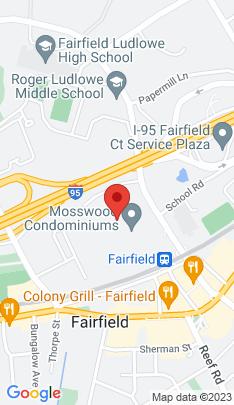 Map of condominium home on 245 Unquowa Road,Fairfield, CT