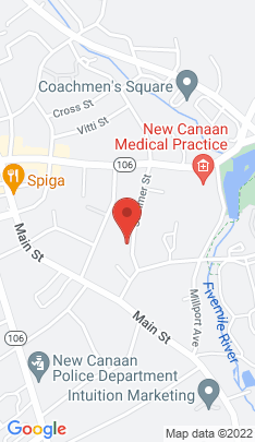 Map of Multi Family Home on 207 Summer Street,New Canaan, CT