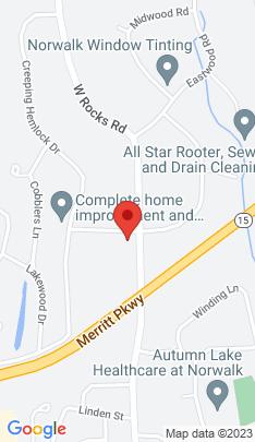 Map of Single Family Home on 1 Butternut Lane,Norwalk, CT