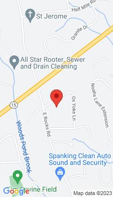 Map of Single Family Home on 3 Ox Yoke Lane,Norwalk, CT
