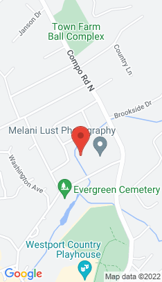 Map of Single Family Home on 55 Evergreen Avenue,Westport, CT