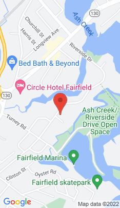 Map of Single Family Home on 529 Riverside Drive,Fairfield, CT