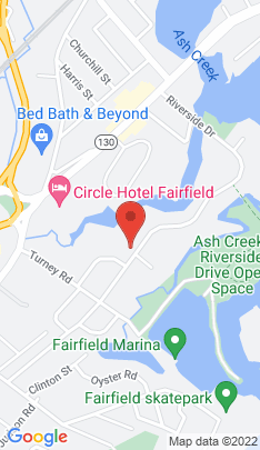Map of Single Family Home on 546 Riverside Drive,Fairfield, CT