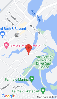 Map of single family home on 481 Riverside Drive,Fairfield, CT