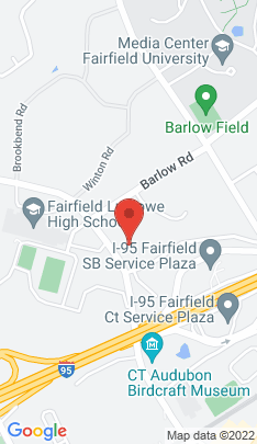 Map of Single Family Home on 570 Unquowa Road,Fairfield, CT