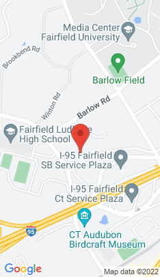 Map of Single Family Home on 544 Unquowa Road,Fairfield, CT