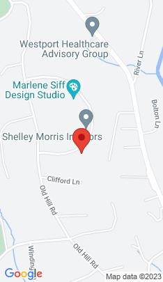 Map of Luxury Mansion on 8 Broadview Road,Westport, CT