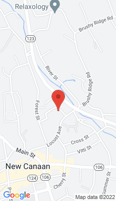 Map of Single Family Home on 59 Hillside Avenue,New Canaan, CT