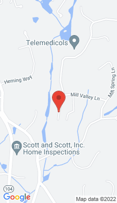 Map of Single Family Home on 287 Blackberry Drive,Stamford, CT