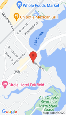 Map of Multi Family Home on 30 Riverside Drive,Fairfield, CT