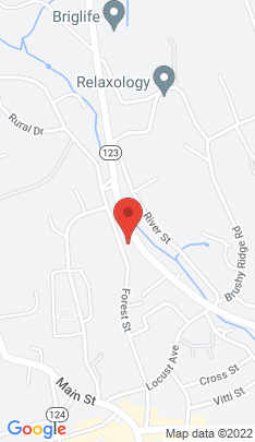 Map of Multi Family Home on 55 New Norwalk Road,New Canaan, CT