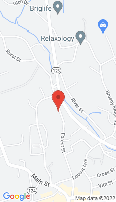 Map of condominium home on 166 Forest Street,New Canaan, CT