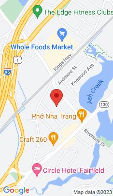 Map of Single Family Home on 89 Roanoke Avenue,Fairfield, CT