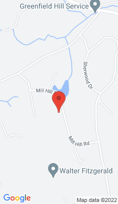 Map of single family home on 1215 Mill Hill Road,Fairfield, CT