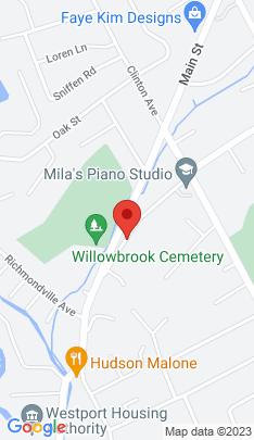 Map of Condo Home on 12 Cross Highway,Westport, CT