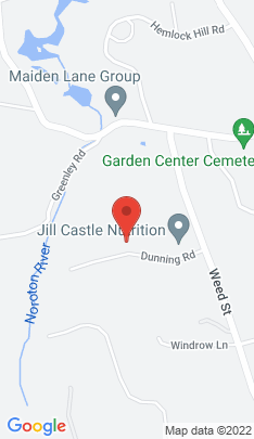Map of Single Family Home on 67 Dunning Road,New Canaan, CT