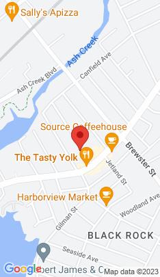 Map of Single Family Home on 59 Bennett Street,Bridgeport, CT