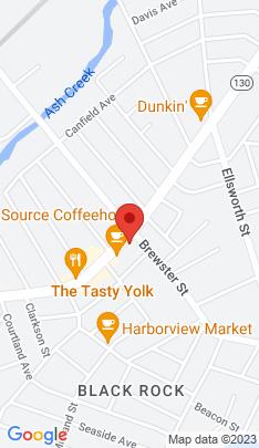 Map of Multi Family Home on 2855 Fairfield Avenue,Bridgeport, CT