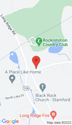 Map of Single Family Home on 1377 Rock Rimmon Road,Stamford, CT